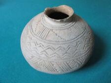 "MAYAN AZTEC Pre Columbian GEOMETRIC DESIGN  BOWL 7 X 5"""