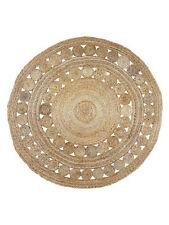 Extra Large Round Jute Rug Circles   Decorative, Rustic, Boho, Designer 150cm