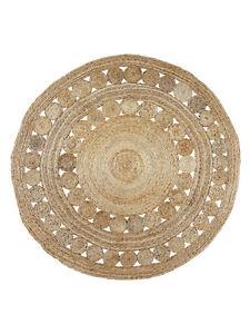 Extra Large Round Jute Rug Circles | Decorative, Rustic, Boho, Designer 150cm