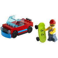 Lego City 30568 Skater With SUV Convertible Car Truck New 40 PCS Polybag 2021