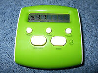2008 RADICA POCKET BLACKJACK HANDHELD ELECTRONIC GAME GREEN & WHITE - NICE