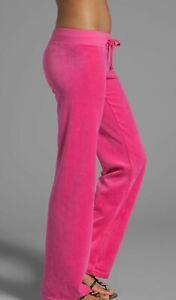 Juicy Couture Pink Velvet Pants Size M
