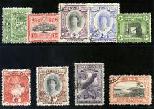 Tonga 1942 KGVI set complete very fine used. SG 74-82. Sc 73-81.
