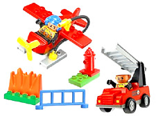 LEGO Duplo Explore  3655  Feuerwehr Wasserflugzeug und Löschfahrzeug Hydrant