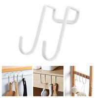 Steel Heavy S Type Stainless Duty Over the Door Hook Wall Towel Hanger Holder