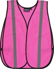 Brand new GirlPower @ Work poncho style one size fits most PINK Safety Vest