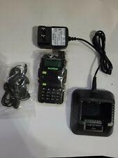 BAOFENG UV-5R5 VHF/UHF Dual Band Two Way Ham Radio NO BATTERY OR ATTENAS