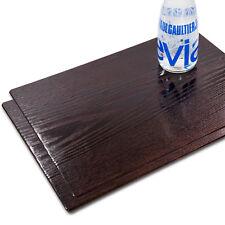 Tischset Platzset MOTIV Kaffeebohnen /& Holzoptik 12 Stk abwaschbar 43,5x28,5 cm