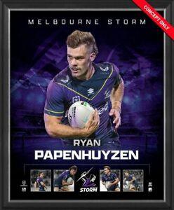Ryan Papenhuyzen Melbourne Storm Official NRL Player Print Framed New