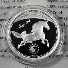 1000 Francs 2014 - Kamerun - Lunar Pferd in PP - 1 oz Ag