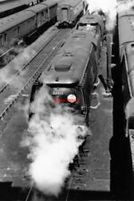 PHOTO  SR WEST COUNTRY S LOCO 34017 ILFRACOMBE + 34028 EDDYSTONE 1953 AT EXETER