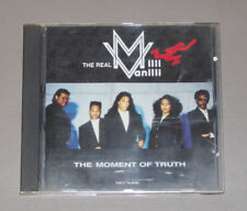 "MILLI VANILLI            CD            "" THE MOMENT OF TRUTH """