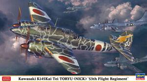 """Hasegawa 1/72 JAAF Kawasaki Ki45Kai Tei Toryu (Nick) """"53th Flight Regiment"""""""