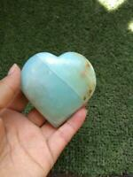 HEART BLUE OPAL HIGH GRADE PERU  190 GRAMS
