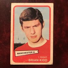1968/69 A&BC Footballer Set BRIAN KIDD #86 MANCHESTER UNITED - VG