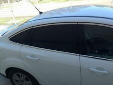 Ford Focus Berlina Mk3 2011Up Cromo Moldura Marco De Windows 4 puertas 16Pcs Acero Inoxidable De Acero