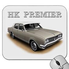 HOLDEN 1968  HK  PREMIER  SEDAN  MOUSE PAD   ( 6 CAR COLOURS )