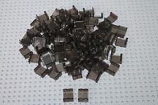 Lego 4864, 100x Panele Paneele 1x2x2 panel paneel transparent rauch schwarz
