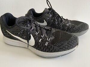 Nike Air Zoom Structure 19 Black Laufschuh Sportschuh Jogging Sneaker EU 44
