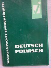Juncker Pocket Sprachenführer Lexikon Deutsch - Polnisch