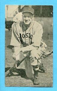 1936 Goudey Wide Pen Premium Type 3 Joe Cronin Boston Red Sox Baseball Card EX