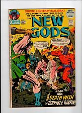 DC NEW GODS #8 1972 VG Vintage Comic