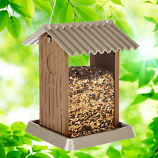 9210 Large Outhouse Birdfeeder 4.25 Lbs Seed Capacity