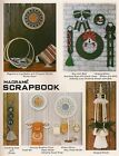 Plant Hanger, Log Holder  Holiday Patterns Craft Book: PD1151 Macrame Scrapbook