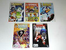 Sonic the Hedgehog Comic Book  Lot 170 - 172 - 173 - 174 - 175
