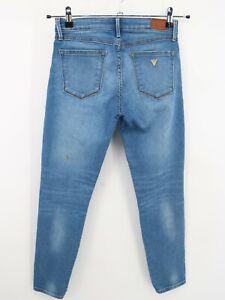 Guess Los Angeles Women's Power Stretch Skinny Cotton Blue Denim Jeans 27