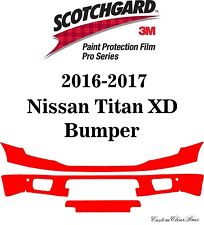 3M Scotchgard Paint Protection Film Pro Series Fits 2016 2017 Nissan Titan XD