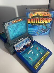 Electronic Talking Battleship Advanced Mission 2000 Milton Bradley Complete!
