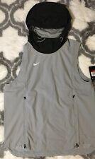 Nike Shield Sleeveless Jacket Men Size S Gray NEW AO5856-007 NWT $145