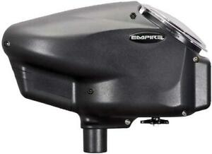 Empire Halo Too Electronic Paintball Loader - 20+ BPS - Black