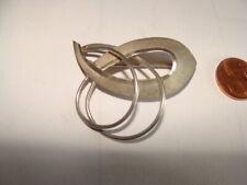 Schöne  Jugendstil Brosche   800  Silber  7