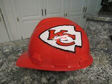 NFL Kansas City Chiefs Super Bowl Champions Construction Safety Helmet Hard Hat