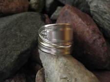 Size 8.5 R126 Sleek Vintage Spoon Ring