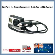 GoPro Auto Charger - In-car charger for Go Pro Hero 3 with 0.8m USB included
