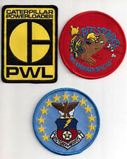 ALIEN/ALIENS  Movie  Patch Set of 3 Patches-Bug Stomper/Powerloader (ALPASET-6)