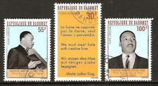 Dahomey # C71-3 Used Martin Luther King Jr.