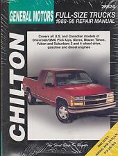 1988-1998 GM Full-Size Trucks Repair Manual
