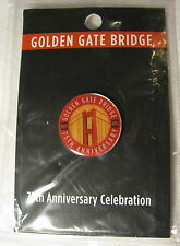 PINBACK GOLDEN GATE BRIDGE 75TH ANNIVERSARY BIRTHDAY CELEBRATION SAN FRANCISCO