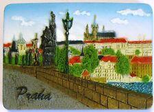 Fridge magnet Praha Prague Castle Charles Bridge,czech gift/souvenir 3D design