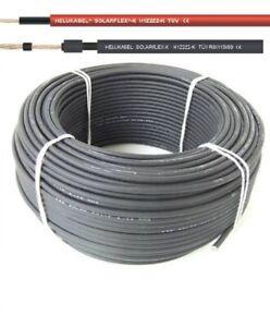 Solarkabel Solarleitung 4mm² - 6mm² PV-Anlage Photovoltaik Kabel 10-100m
