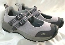 KEEN Sport Shoes Hiking Sz 8 Mary Jane's Purple/Gray Slip On Adjustable Straps