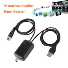 For Cable TV Fox Antenna HD Channel 25DB Digital HDTV Signal Amplifier Booster