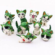 9PCS x Figures Chi's Sweet Home Cat Kitty Finding Charms PVC DIY Phone Kit R0358