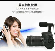MIC-06 3.5mm Recording Microphone Mic for Canon Nikon Camera Video Camcorder