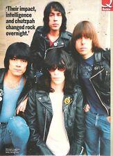 "RAMONES in leather & tees magazine PHOTO / mini Poster 11x8"""
