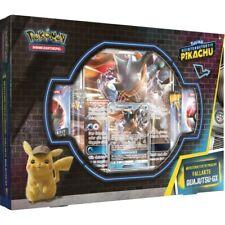 Pokemon Meisterdetektiv Pikachu Karten Fallakte Quajutsu-GX Box DEUTSCH NEU